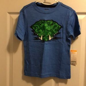 Boys Gymboree gator shirt: NWT: Size 7